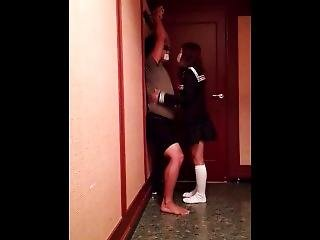 Japanese Teen Ball Kick Hard