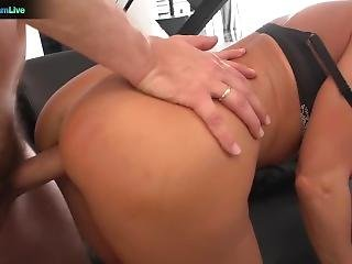 The Lovely Lisa Ann Hardcore Fuck With Her Boss