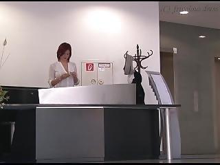 vestito, giapponese, matura, in pubblico