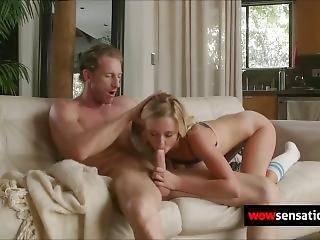 Blonde, Pijp, Dochter, Fantaisie, Neuken, Hardcore, Porno Ster, Realiteit, Tiener