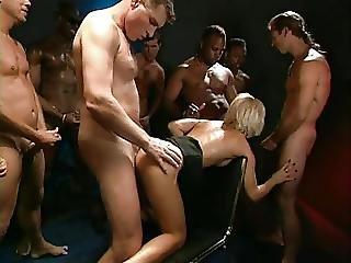 bukkake, dobbel penetration, gangbang, interracial, penetration