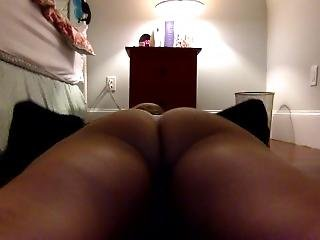 Girl Plays With Her Ass