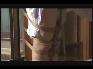 Japanese Tied To Pole Tight