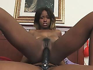 Two Black Babes Chanell And Jezabel Go Full Lesbian