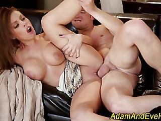 Busty Babe Gets Eaten Out