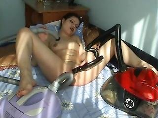 One Girl, Two Vacuums