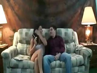 Young Brunette Slut Loves To Fuck And Chain Smoke