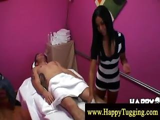Master Masseuse Get Naughty With Client