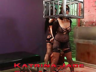 Sub Lesbo Hottie Roughly Punished By Female-dom