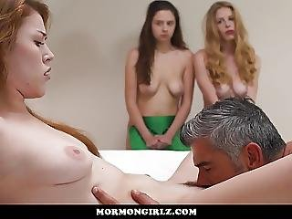 Mormongirlz Teen Virgins Friends Watch Her First Time