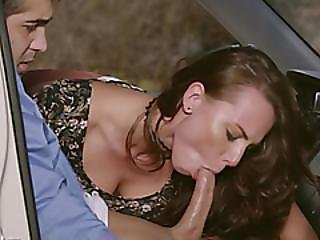 Hot Girl Talked Into Blowing Dick