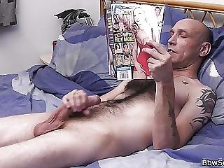 Hot Blonde Plumper Riding Married Mans Cock