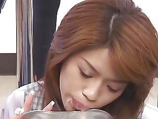 Massive Asian Bukkake With Swap And Swallow 9
