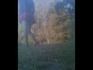 Teen Trap Public Cum In Different Miniskirts