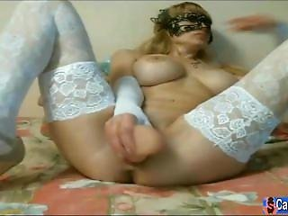 Cam Slut With Dildo Playing With Herself So Sexy