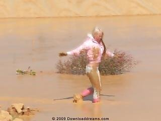 The Pink Rubber Boots