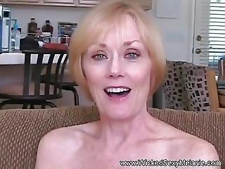 Blowjob Fuck And Facial For Grandma