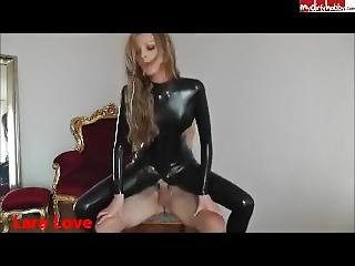 Super Sexy German Girl In Latex