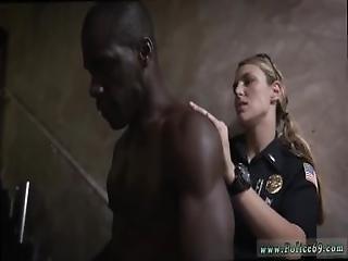 amatoriale, cull, nera, bionda, poliziotto, sburrata, milf, polizia, sesso a tre, uniforme