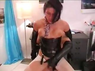 Hardcore Latex Sex With Fetish Clothes