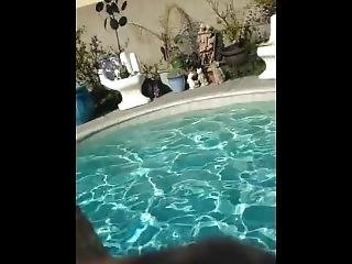 Swimming Pool Goofing Off