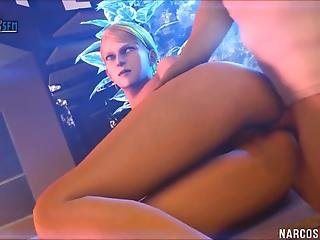 Hot Doggystyle Sex For 3d Beauties After Blowjob