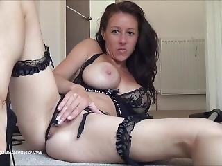 Sexy Milf Kh In Negligee With Litle Vibr.bullet And Trusty Henry Hoover