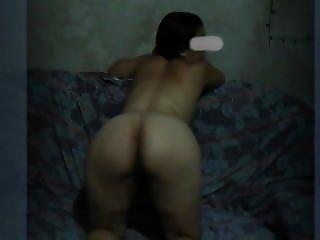 Amateur, Brasilianisch, Brünette, Onanieren, Sofa Sex