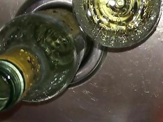 amatör, flaska, fetish, piss, pissar, pov