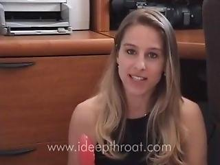 How To Deep Throat - An Instructional Video From The Queen Of Deep Throat