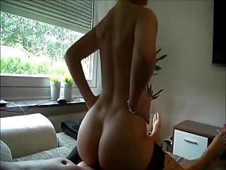 Sexy Amateur Blondie Making Her Lover Happy.