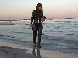 Latex At The Beach