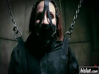 Sweet Marika Hase Got Tied Up And Punished With Different Sex Toys