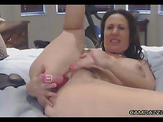 Deep and loud horny milf