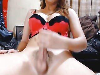 Hawt Sexy Ladyman Strokes Her Hard Wang