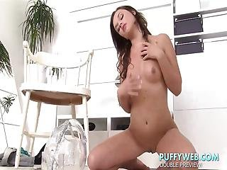 Babes Drinking From Piss Fountain