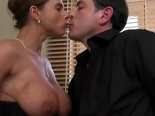Busty Susi In Corset Has Sex In Kitchen
