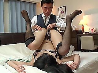 Sexy Japanese An Fucks To Get A Perfect Score From Moaning Loudly