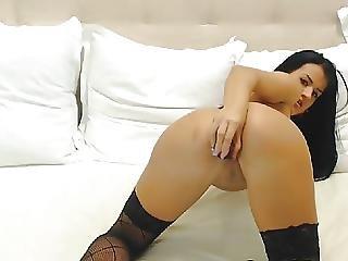 Babe, Masturbation, Pussy, Sex, Solo, Stocking, Toys, Webcam