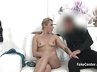 Tattooed Milf Fucking For Job On Interview