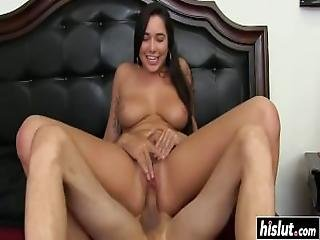 Busty Karlee Grey Gets Titty Fucked