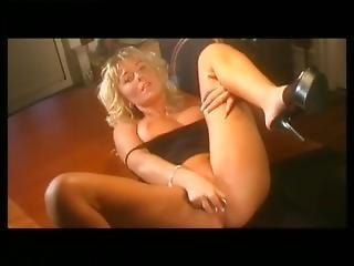 Hot Blonde Masturbation