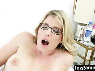 Sweet Teen Horny Blonde Flashing Little Wet Panties