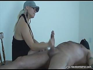 Dominant Milf With Huge Tits Commands A Large Cock To Obey H