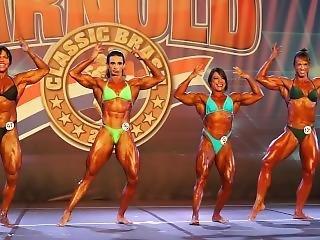 Arnold Classic Brazil - Female Bodybuilders Contest Part Ii