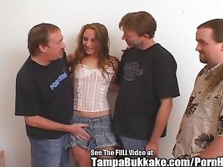 Amateur Slut Group Fuck In Tampa