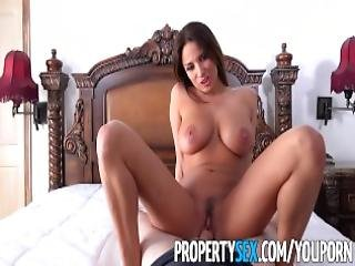 Propertysex French Teacher With Big Natural Tits Fucks Homeowner