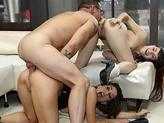 Malena Lets Her Stepdaughter Gets Analed By Her Husband