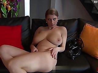 Sexy Babe Balls Licking