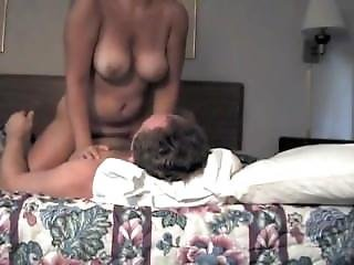 Bouncing Boobs Milf From Www.maturedating.club Rides A Dick